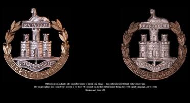 Dorest Regiment Medals