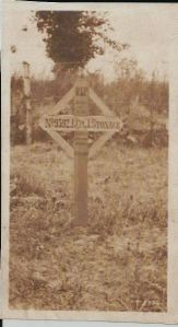 Photo of original marked grave.