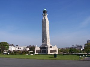 The Naval Memorial at Plymouth Hoe