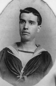 Taken serving on H.M.S.Mars 1901