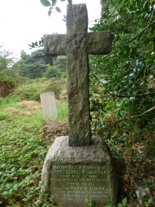 The Ploughman family grave at Southampton Old Cemetery