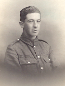 Bertie Sonley in Uniform