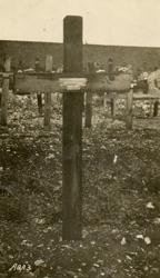 Alfred Kerley's grave marker