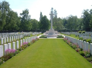 bully grenay communal cemetary Britihs extension france