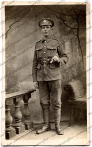 Arthur Reginald Cross pictured in 1916 *