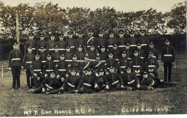 No7 Company Hants RGA 1909 (small)