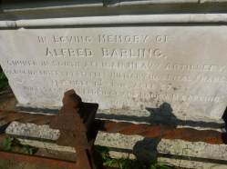 UTW BARLING Alfred      Gunner 674