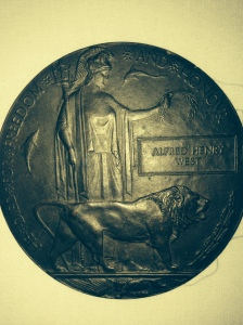 Alfred Henry West's 'Dead Man's Penny' - see note on this at the foot of the page.