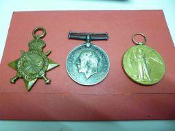 Ernest's medals.