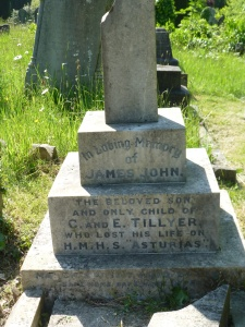 UTW TILLYER, James John  Able Seaman