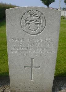 James Angel headstone