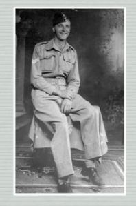 Jim in uniform in India aged 29